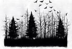 Картинки по запросу Тату лес предплечье