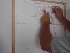 Curso de patrones :  5 Clase 3 pinzas introducción 2 de 3  Pinza tirante