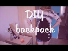 Návod DIY: Jak si doma ušít vlastní pytel na záda, tzv. backpack. | Luciessence