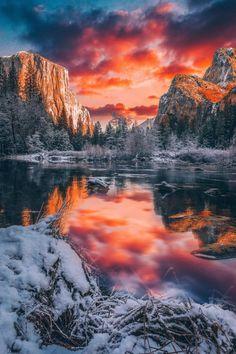 Yosemite National Park by Niaz Uddin - Nature Photo - Best Nature Photos - Beautiful Natural Photos Yosemite National Park, National Parks, National Board, Beautiful World, Beautiful Places, Beautiful Beautiful, Beautiful Pictures, Landscape Photography, Nature Photography