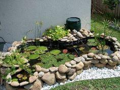 Installing a preformed pond — Utopia Aquatic Backyard Water Feature, Ponds Backyard, Pond Plants, Aquatic Plants, Water Pond, Water Garden, Plastic Pond, Raised Pond, Garden Pond Design