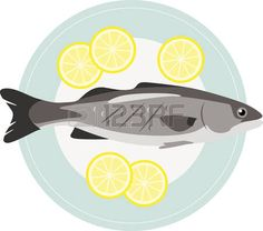 Fish Plate Stock Illustrations, Cliparts And Royalty Free Fish ...
