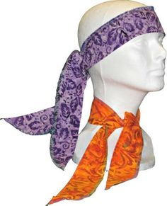 Neck Cooler, Head Wrap, Cold Wrap, Cooling Wrap, Cool Ties, Cooling Ties, Cooling Bandana, Cold Scarf  Neck Coolers Keep You Cool in the Summer