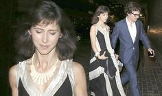 Benedict Cumberbatch and Sophie Hunter enjoy romantic evening out