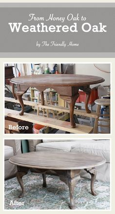 Do you cringe when you see honey oak? You know, orange-stained and super shiny oak that looks like it belongs in 1985? I do. Even more, I cringe when I walk into furniture stores that are selling t...