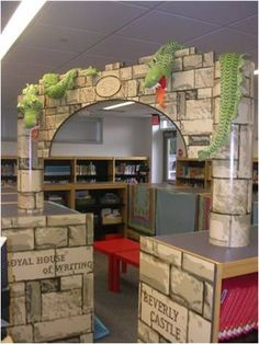 This is surely a place to write and read that no child could resist!  http://blog.schoollibrarymedia.com/index.php/category/environment/