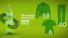 Recycling Plastic Bottles Into Clothing With Repreve Circular Economy, Making Shirts, Sweat Proof, Recycle Plastic Bottles, Recycling, Frugal Living, Google Search, Clothing, Fashion