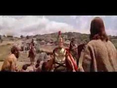 "in the desert -  ""God, help me!""  (scene from the movie, Ben Hur )"