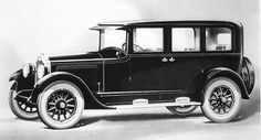 Model for 1925 Buick Sedan - Mr. Johansson's car - in Waiting for Dusk