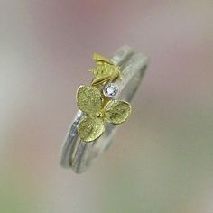 plus a bee stacking ring. pretty combination