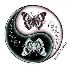 ying yang tattoos   Yang Tattoo By Denise A Wells In Tattoo Designs - Free Download Tattoo ...