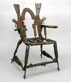Artwork Throne of Weapons, by Cristovao Canhavato (Kester) in 2001