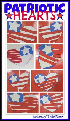 Patriotic Response for Memorial Day: Book GIVEAWAY Patriotic Response from RainbowsWithinReach K Crafts, Daycare Crafts, Toddler Crafts, Holiday Crafts, Crafts For Kids, Summer Crafts, Blue Crafts, Holiday Fun, Memorial Day Activities