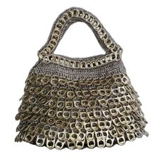 dA-LaTA Gold Frison Evening Tote Bag | Plum Ethical