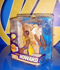 Figura deportiva NBA dwight howard mcfarlane toys-buen estado-caja abierta