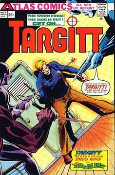 Products Are Sold Without Limitations Targitt #1 From Atlas Comics In Nice Shape !!!!! Bronze Age (1970-83)