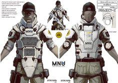 District 9 - MNU Armour Concept Art