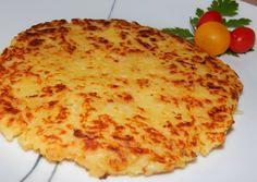 Röszti burgonya | Antukné Ildikó receptje - Cookpad receptek Reggio, Food And Drink, Pizza, Potatoes, Cheese, Ethnic Recipes, Contouring, Potato
