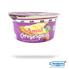 Buy Amul Cheese Spread - Punchy Pepper Cheese at Best Price Mumbai Cheese Online, Milk Products, Cheese Stuffed Peppers, Eating Alone, Cheese Spread, Coffee Cans, Spreads, Beverage, Dairy