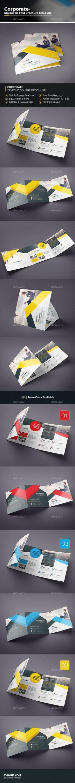 Square Tri-fold Multipurpose Brochure Template Vector EPS, AI Illustrator. Download here: https://graphicriver.net/item/square-trifold-multipurpose-brochure/17239676?ref=ksioks