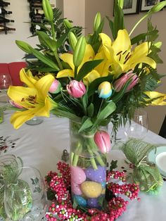 Easter centre piece.