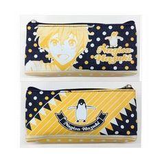 Amazon.com: Anime Free! Iwatobi Swim Club Denim pencil case Nagisa... ($14) ❤ liked on Polyvore featuring bags