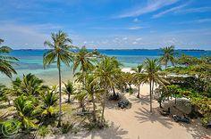 Lengkuas Island, Belitung, Indonesia.View from Light House Tower, Lengkuas Island, Belitung, Indonesia