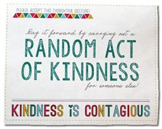 Random Acts Of Kindness Free Printable (Template Card) regarding Random Acts Of Kindness Cards Templates - Sample Professional Templates Kindness Elves, Kindness Ideas, Id Card Template, Bee Crafts, Best Templates, Activity Days, Random Acts, Free Printables, Acting