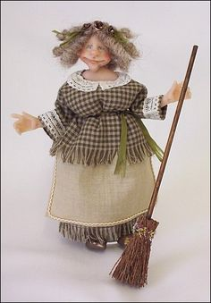 12th Scale Doll/Character -Friendly Witch