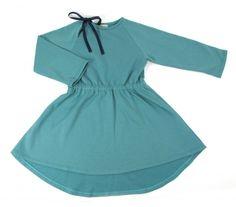 Nobodinoz Utah Dress In Green Lake | Scandinavian Minimall