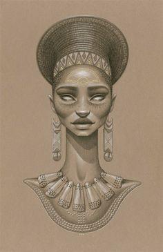 african sun goddess, khwezi