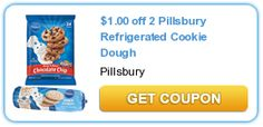 Pillsbury Offers $1.00 Off of 2 Refrigerated Cookie Doughs! Hot Coupon!