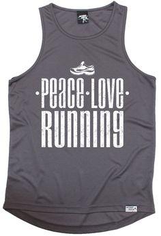 Personal Best Peace Love Running Men's Training Vest