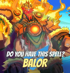 "SPELLS GALLERY: BALOR ""I'm really proud of this scroll. The mere acquisition of non-flammable material cost me a lot of effort and significant monetary investment."" Mirfa the Enchanter #game #rpg #fantasy #dragons #mages #magic #spells #warlock Play now! App Store / iOS: https://itunes.apple.com/app/war-of-warlocks/id799551713?mt=8 Google Play / Android: https://play.google.com/store/apps/details?id=air.com.greengeniegames.warlocks"