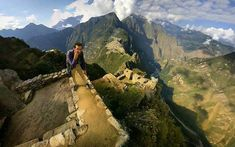 360 photo on Machu Picchu in Peru by Daniel Chase of Chasing The World