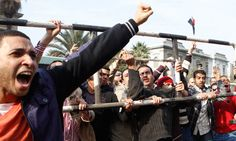 What is happening in Egypt is a precursor to a wider global war between the world's elites and the world's poor.