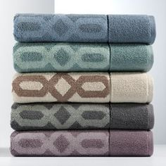 Kohls - Simply Vera Very Wang Links Bath Towels - Clearance $7.19 - $11.99