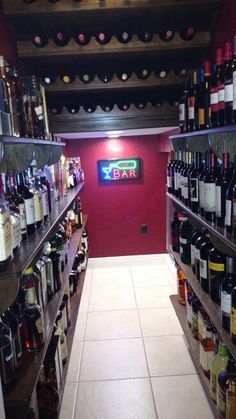 Wine cellar, under the stairs, liquor cabinet