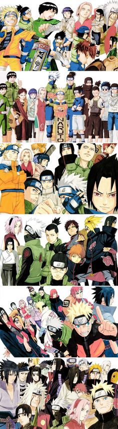 Why is the main character not in the fourth image?!?! •Naruto•