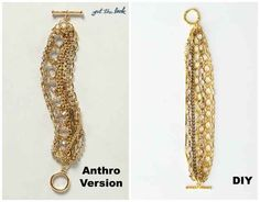 Gold Chain Bracelet | 50 DIY Anthropologie Hacks For Every Facet Of Your Life
