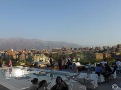 Les beaux quartiers de #Santiagoduchili: la terrasse de l'#hôtel #Noi