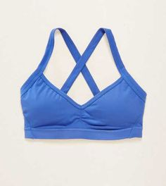 Aerie Lightly Lined X-Back Sports Bra. XOXO! X-back & O-so pretty… a little love for loungin' or workin' out. #Aerie
