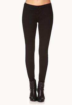 Street-Chic Skinny Jeans | FOREVER21 - 2000129616 Flattering for big legs small waist $14.80