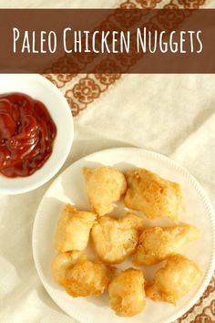 Paleo Chicken Nuggets! Easy, crispy, and amazing!!