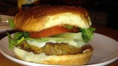 Great burgers. Cooked carrots, squash and zucchini are stirred into oats, cheese, and egg with some broth and soy sauce added for color and taste. Chill for at least 1 hour, then shape into thick patties and broil.