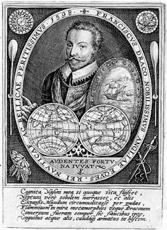 Portrait of Sir Francis Drake by Crispin de Passe Scouts, Sir Francis, Golden Hind, Famous Pirates, Nathan Drake, Literature Books, King Henry, Tudor History, Sully