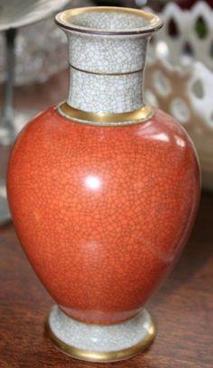 1308: Royal Copenhagen Ceramic Vase : Lot 1308