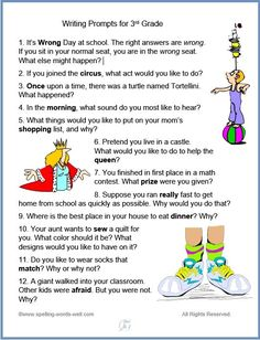 These fun, easy-to-use third grade lesson plans will help your students learn new spelling words. Choose fun games, worksheets, writing prompts or one of our other many resources. Writing Prompts Funny, Writing Prompts For Writers, Writing Lists, Picture Writing Prompts, Cool Writing, Creative Writing, Writing Process, Spelling Bee Word List, 3rd Grade Spelling Words