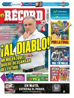 Portada RÉCORD 09-05-2012 | México y Guadalajara