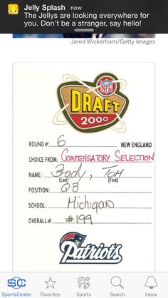 for throwback thursday tom brady posts his college resume sports